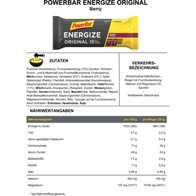 PowerBar Boîte Barres énergétiques Original 25 x 55g, Berry